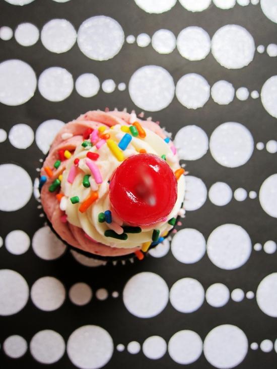 Neapolitan Cupcakes 4