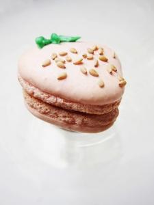 strawberry macaron 3