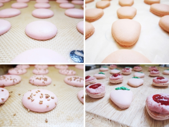 Strawberry Macarons 2