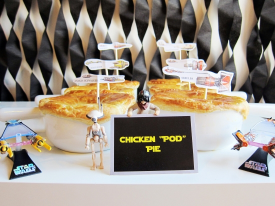 chicken pod pie