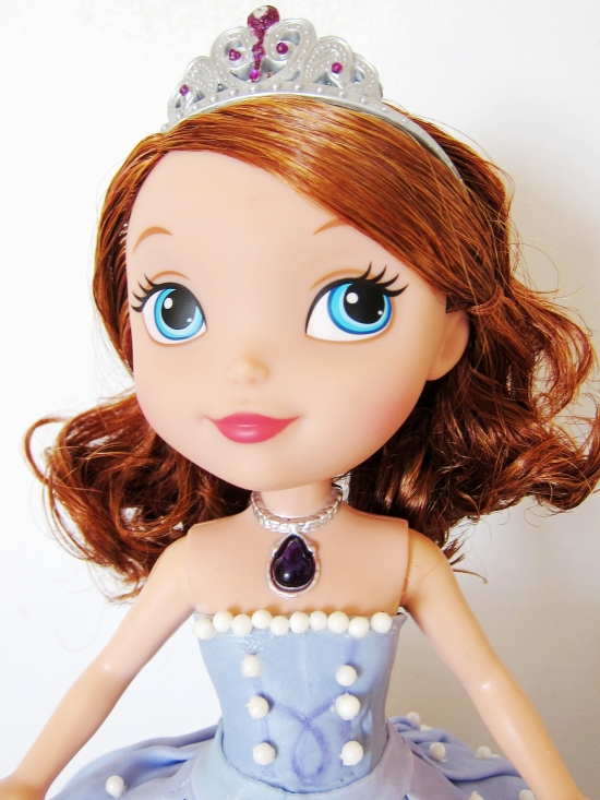 sofia the first doll cake 4