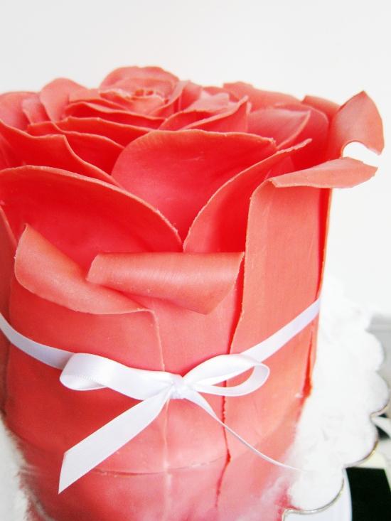 rose cake 4