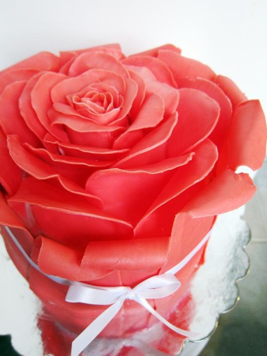 Rose cake 1
