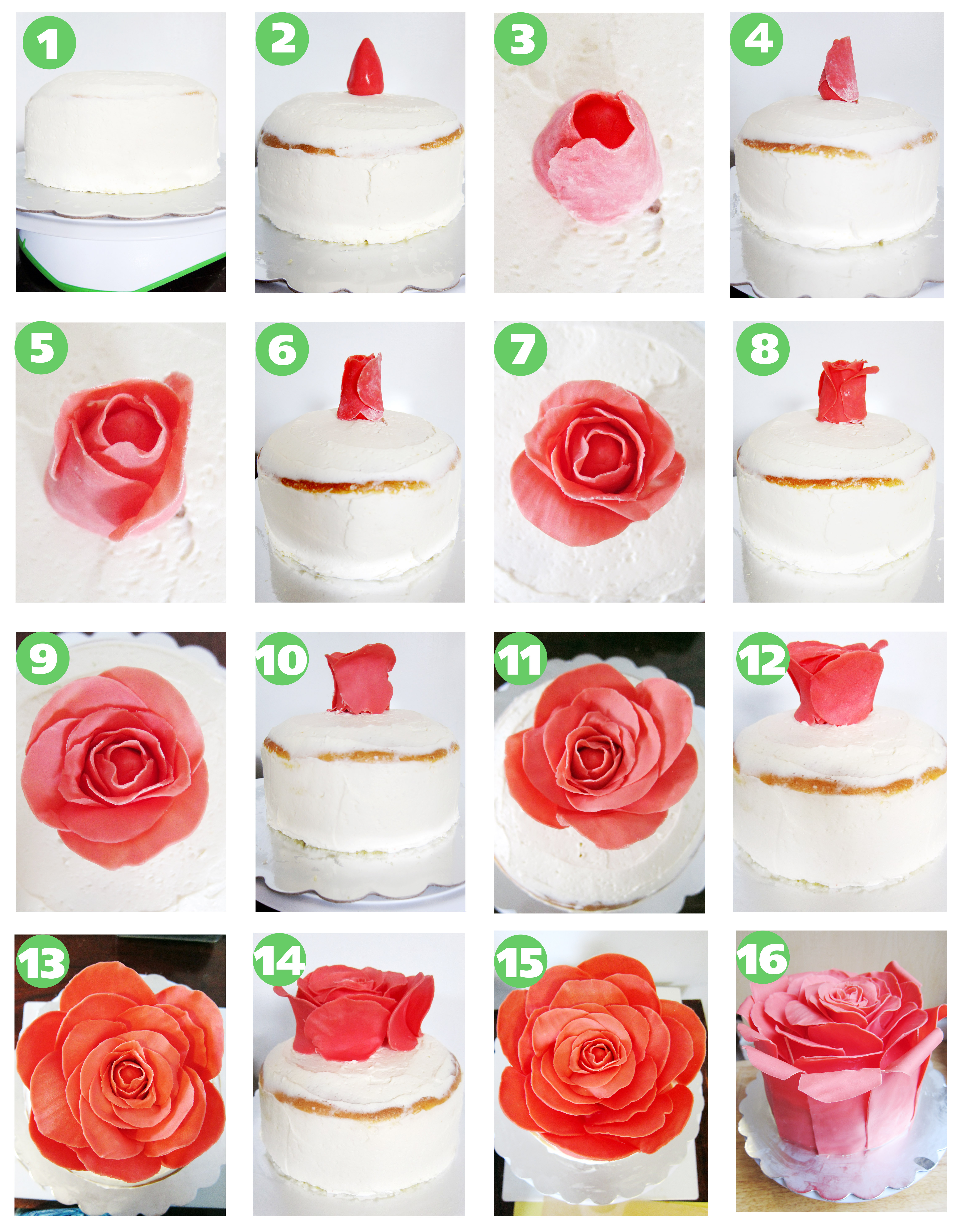 Rose Cake | The Busy Spatula