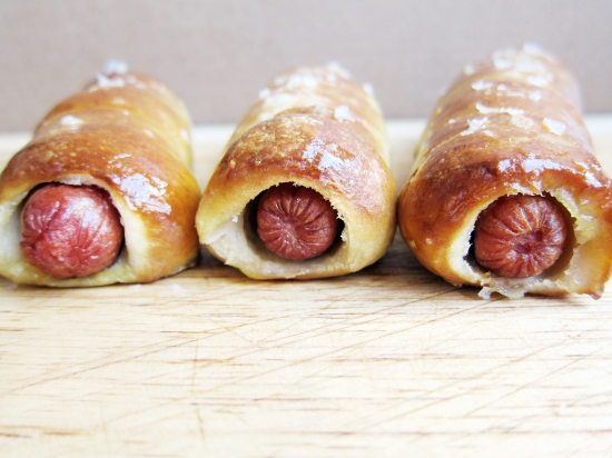 Pretzel Hot Dog 1