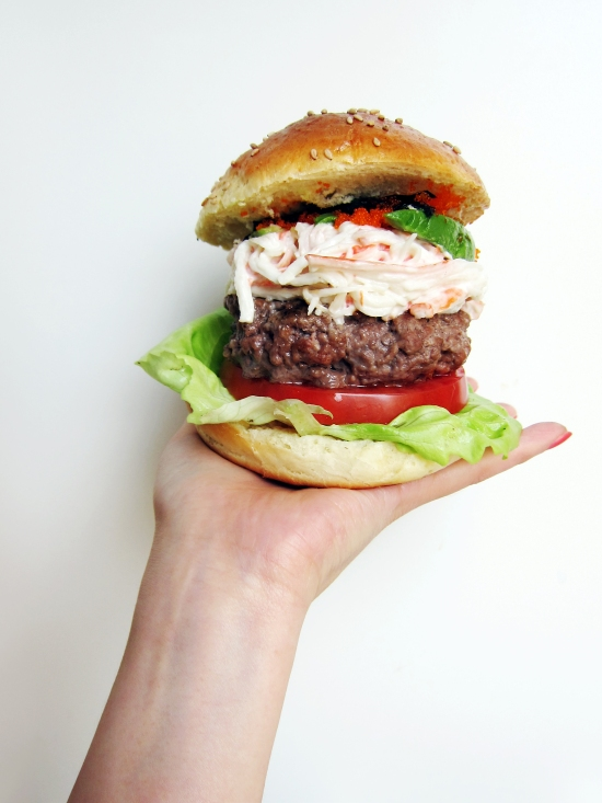 California Roll Burger 7