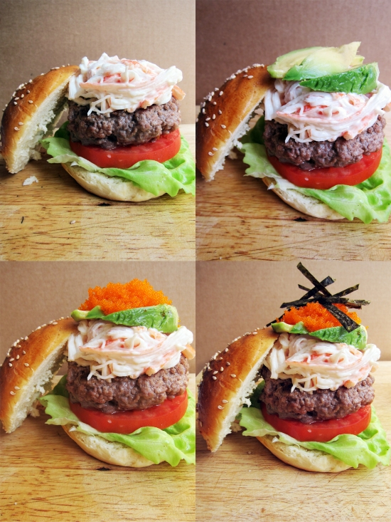 California Roll Burger 9