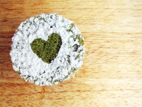 Mini Green Tea Cake 2