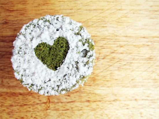 Mini Green Tea Cake 2