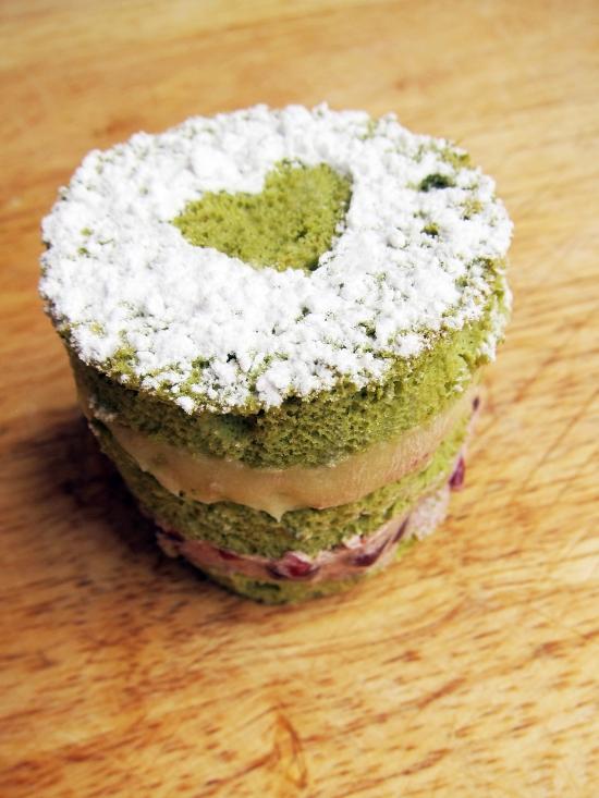 Mini Green Tea Cake 3