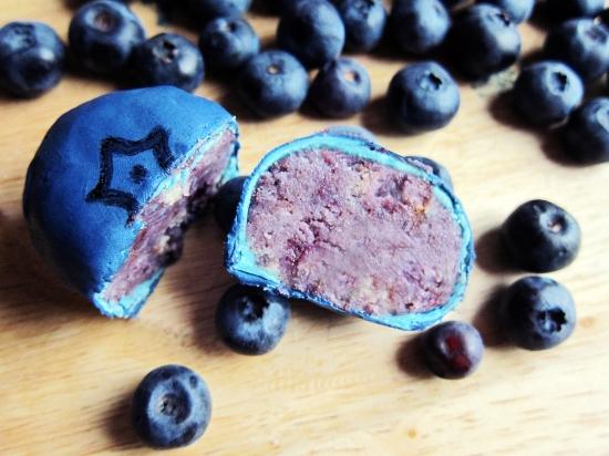 Blueberry Cake Balls 6