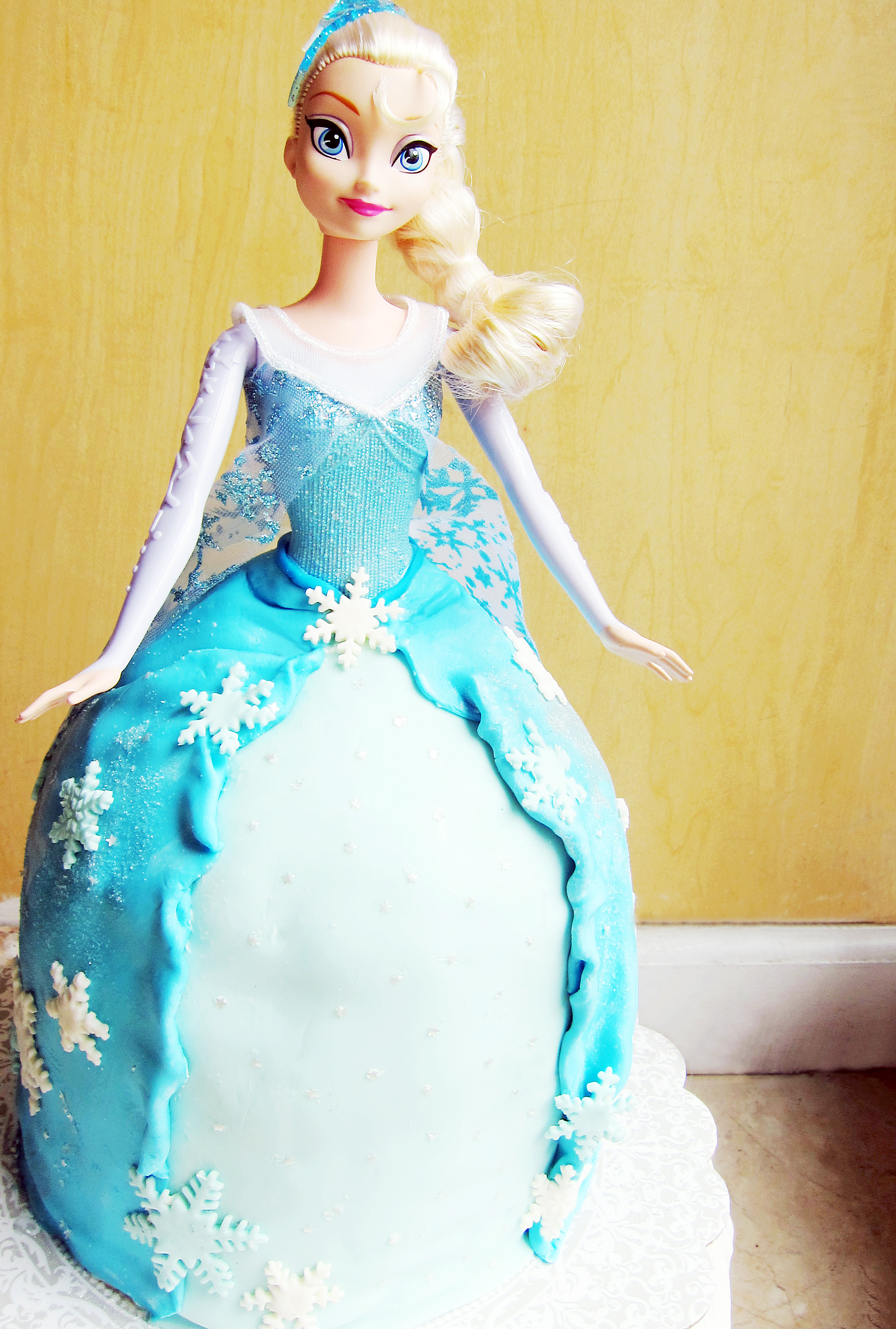 How To Make Simple Doll Cake