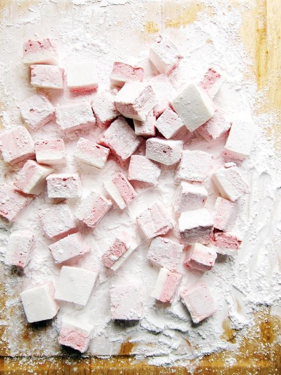 Pomegranate Coconut Marshmallows 3