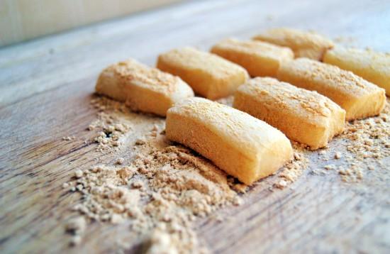 Injeolmi (인절미) Macarons 1