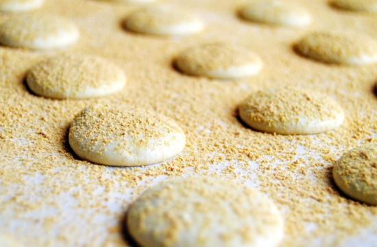 Injeolmi (인절미) Macarons  3