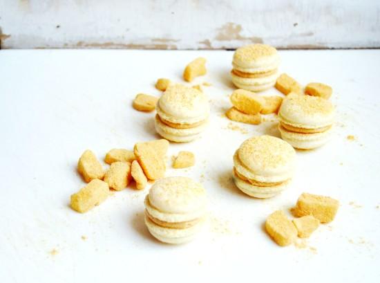 Injeolmi (인절미) Macarons  6