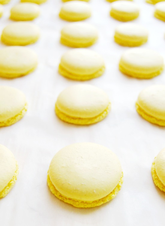 Lemon Basil Macarons 7