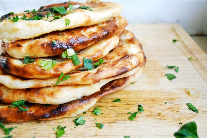 Garlic Naan | The Busy Spatula