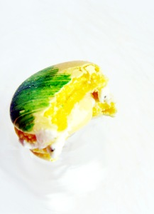 Lemon Basil Macarons 1
