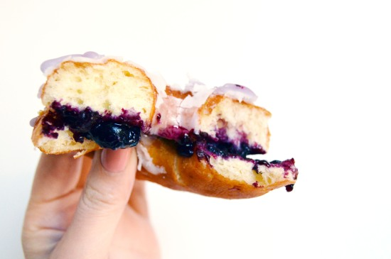 Blueberry Pie Doughnuts 4