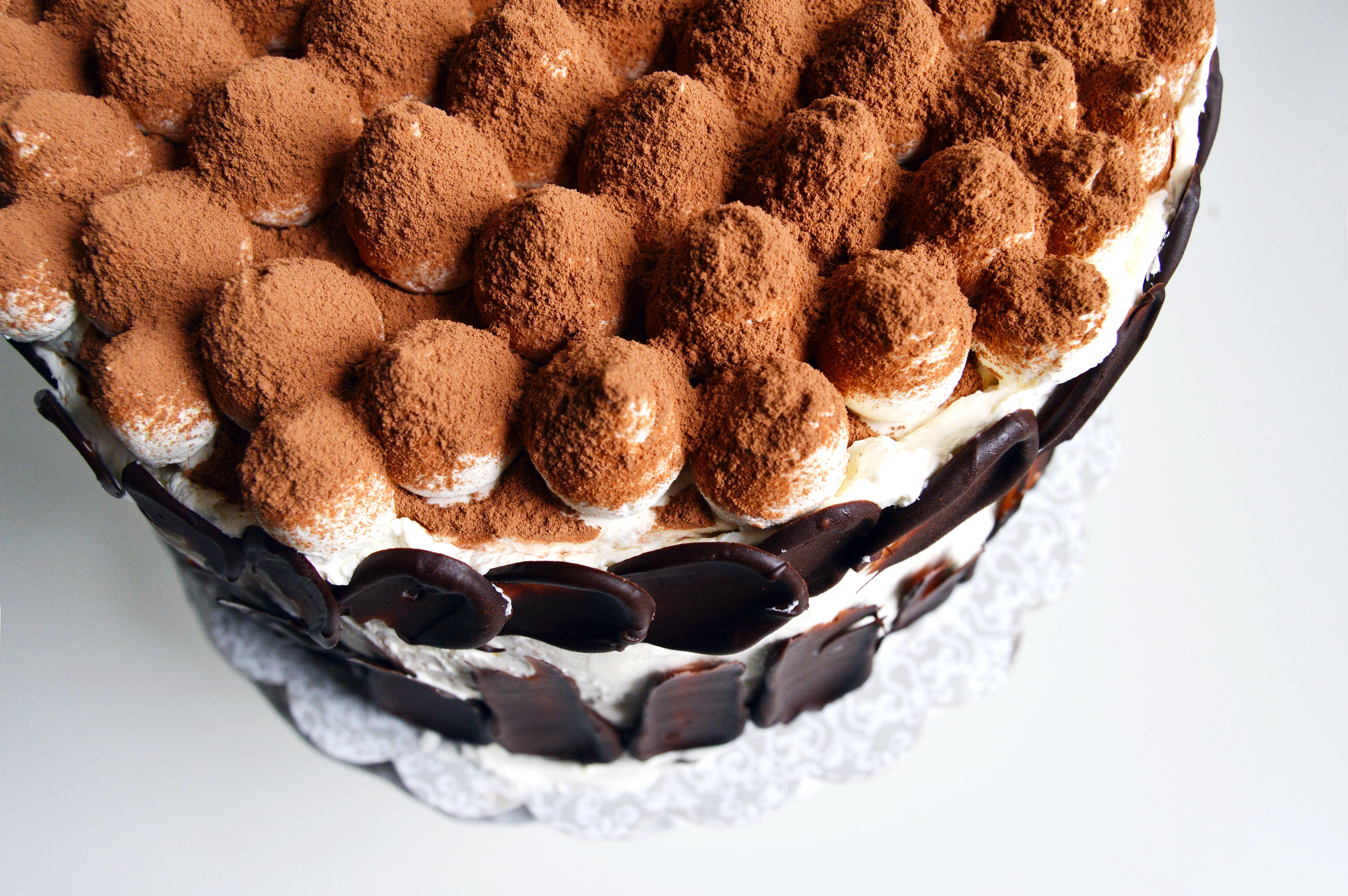 Tiramisu Crunch Ice Cream Cake The Busy Spatula