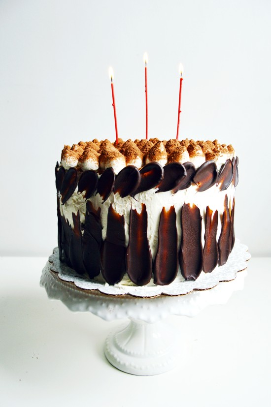 Tiramisu Crunch Ice Cream Cake 1