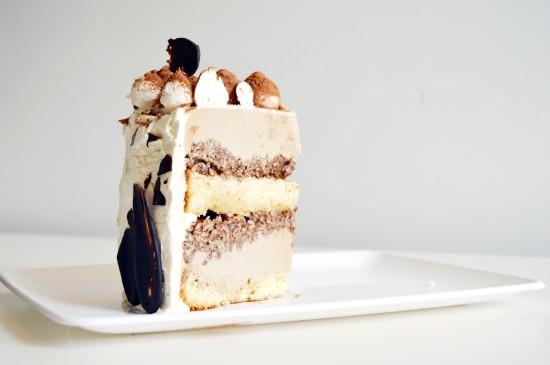 Tiramisu Ice Cream Cake 4