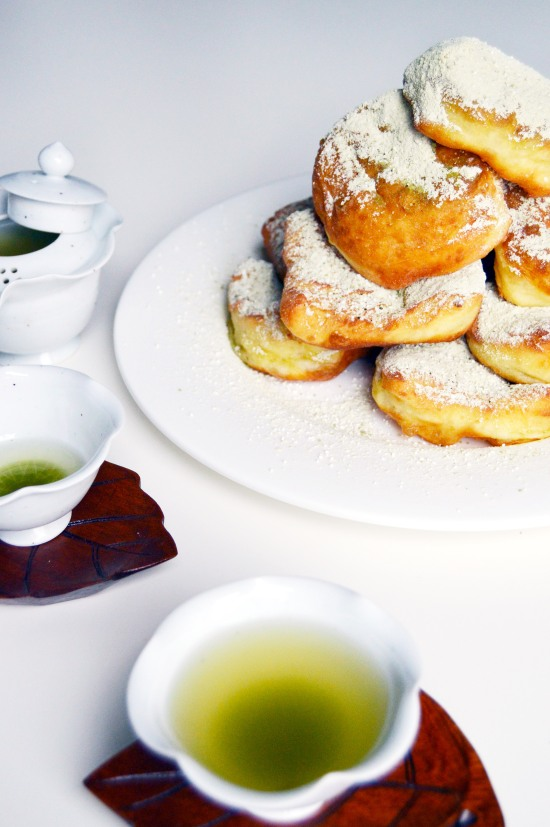 Green Tea Beignets