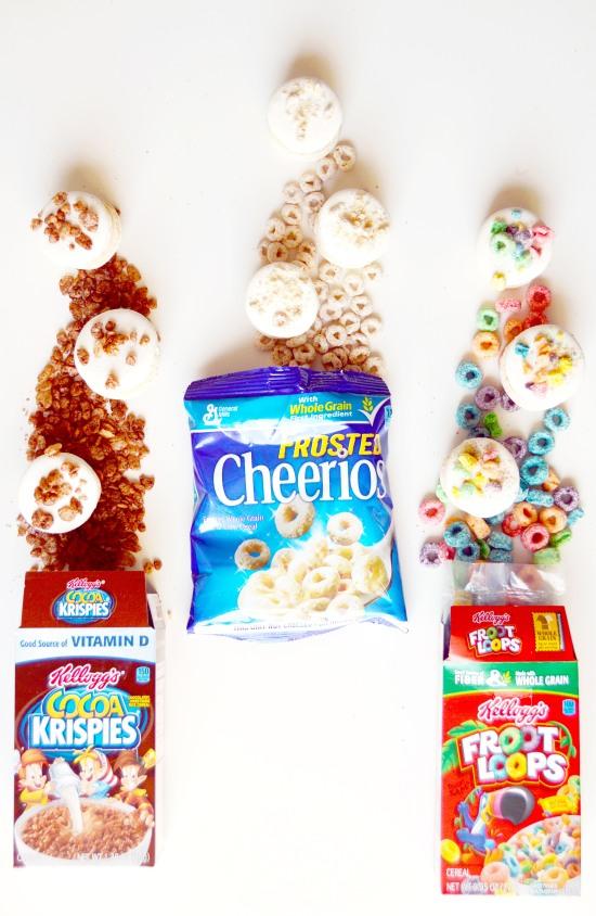 cereal macaron recipe