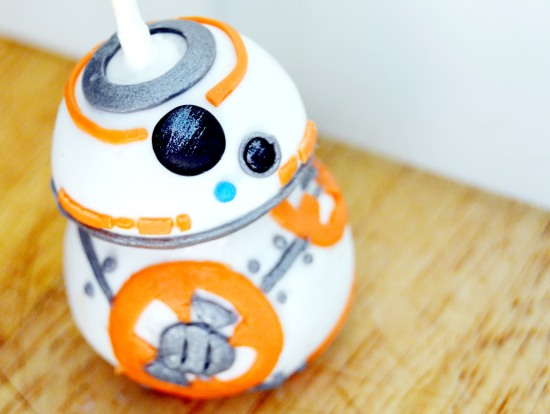 how to make a bb8 cake pop