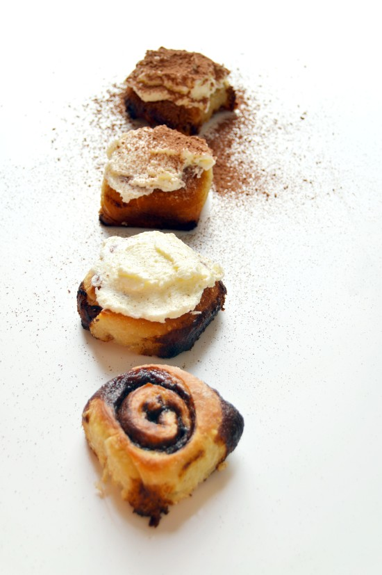 Tiramisu Cinnamon Rolls