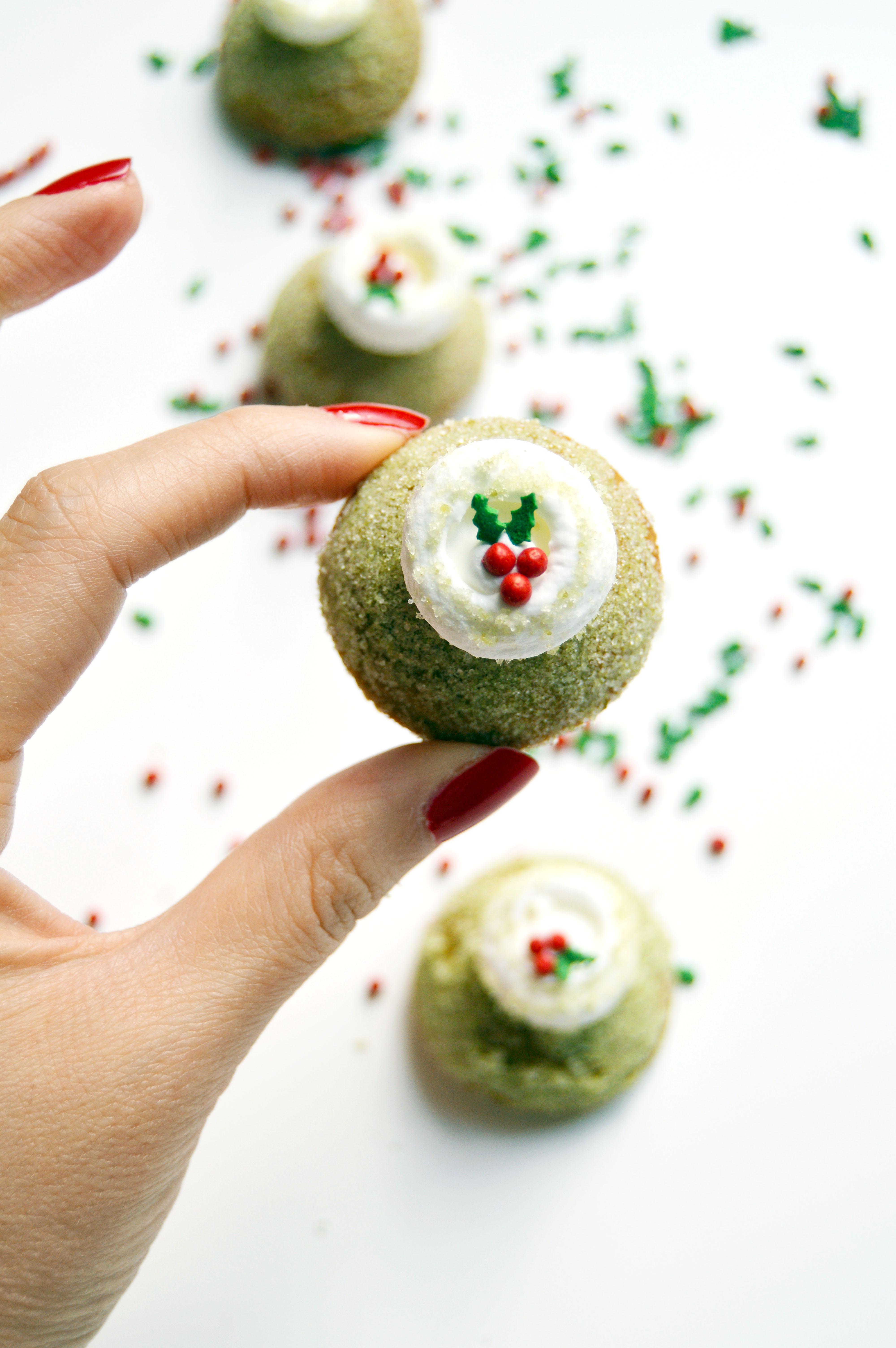 matcha white chocolate sugar cookies