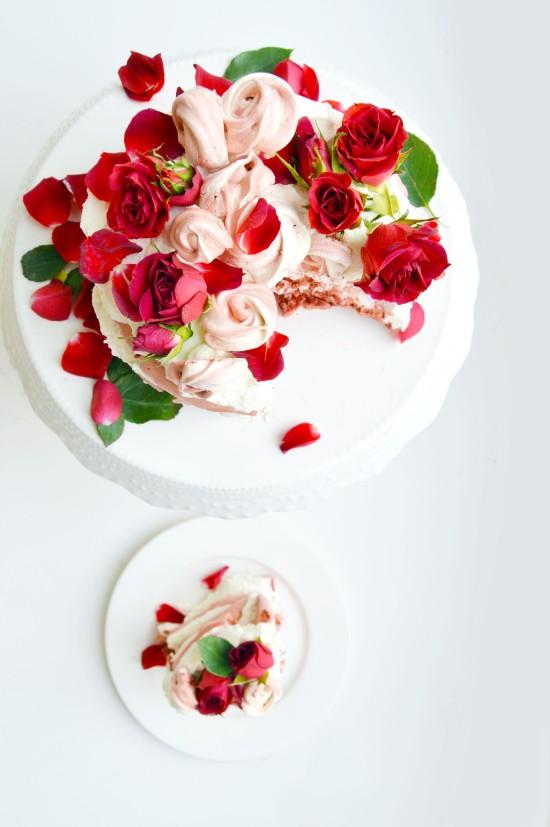 Red Velvet Rose Pavlova 2