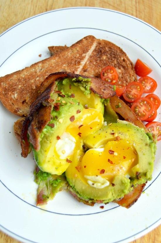 Bacon Avocado Egg