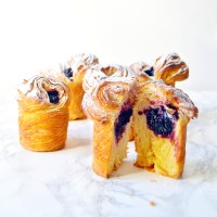 Blueberry Cruffins (Crossiant + Muffins)