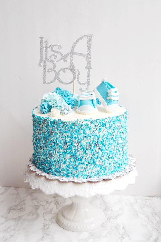 A Boy Baby Shower & How to Dye Your Own Sprinkles | The ...