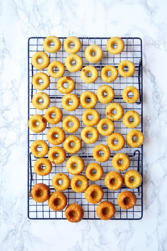ombre doughnuts