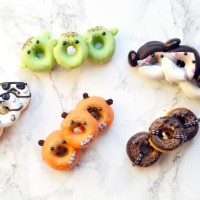 Star Wars Mini Doughnuts – Part II: Leia, Yoda & Chewbacca