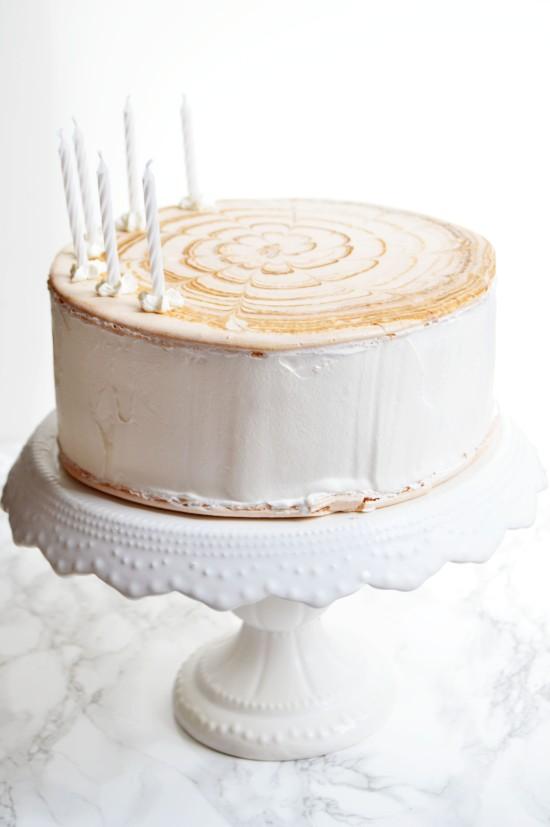 Giant Macaron Ice Cream Sandwich Cake