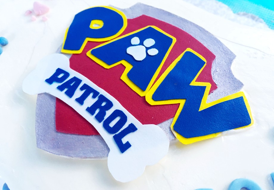 Paw Patrol Pull Apart Cupcake Cake In Shape Of Number 2