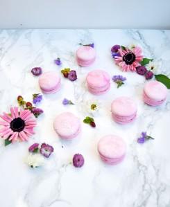 Raspberry Rosé Macaron