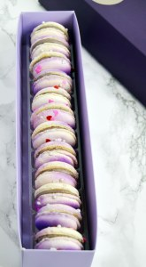 Okinawan Sweet Potato Macarons