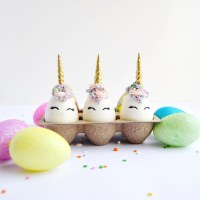 Chocolate Unicorn Easter Eggs