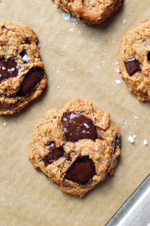 Chocolate Chip Tahini Cookies