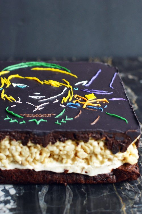 zelda brownies