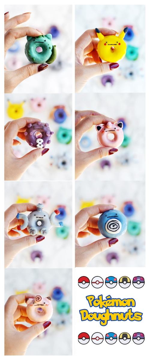 pokemon doughnuts